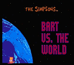 The Simpsons. Bart Vs. the World