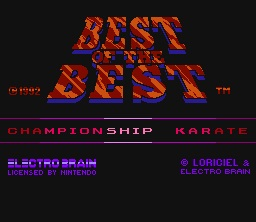 Best of the Best: Championship Karate