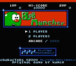 Blob Muncher (Ms Pac-Man Hack)