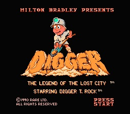Digger: The Legend of the Lost City