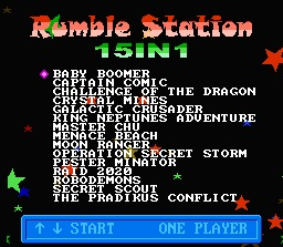 Rumble Station 15 in 1