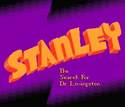 Stanley. The search For Dr. Livingston...
