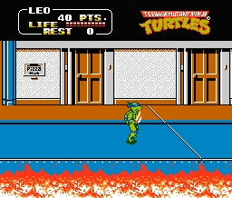 Teenage Mutant Ninja Turtles II. The Arcade Game