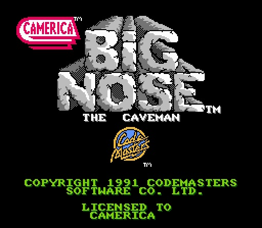 Big Nose the Caverman
