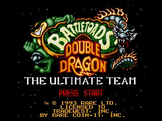 Battletoads Double Dragon. The Ultimate Team
