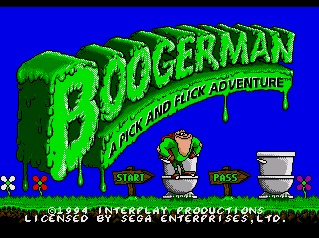 Boogerman. A Pick and Flick Adventure