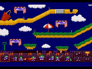 Lemmings 2. The Tribes