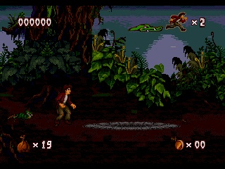 Pitfall. The Mayan Adventure