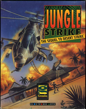 Jungle Strike - игра для sega
